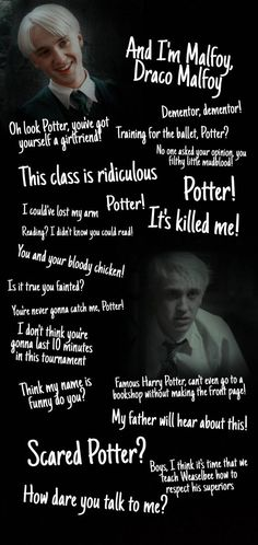 Draco Malfoy quotes wallpaper by ioana_t88 - 43d3 - Free on ZEDGE™