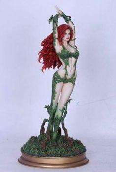 Fantasy Figure Gallery DC Comics Collection Poison Ivy Resin Statue #PoisonIvy #Statue #FantasyFigure #DCComics #Collectibles #Batman #Batbase