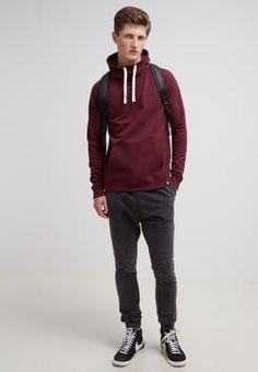 YOUR TURN - Sweatshirt - bordeaux