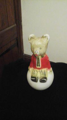 Vintage rupert bear toy by CrazyladysEmporium on Etsy