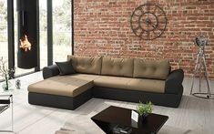 Lupania L sarokkanapé Outdoor Sectional, Sectional Sofa, Couch, Outdoor Furniture, Outdoor Decor, Living Room, Home Decor, Modular Couch, Settee