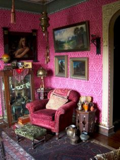 40 Trending Victorian Bohemian Decor Inspirations - Home Design Bohemian Furniture, Bohemian Interior, Home Design, Interior Design, Interior Ideas, Diy Design, Halls, Bohemian Living, Bohemian Room