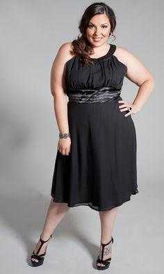 Black Dress Empire Waist