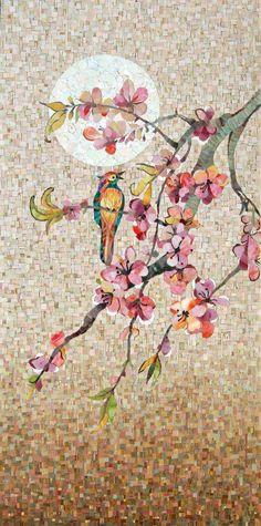 Mozaik falikép