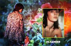 Edie Campbell & Ben Waters by David Sims for Jil Sander Spring/Summer 2014 Campaign