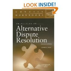 Alternative dispute resolution in a nutshell by jacqueline m alternative dispute resolution in a nutshell by jacqueline m nolan haley professor of law director of adr conflict resolution program fandeluxe Images