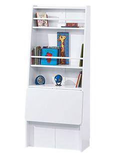 Bureau capsule escamotable laque blanc vertbaudet enfant d co pinterest room and house for Bureau enfant vert baudet