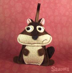 Woodland Felt Animal Ornament -Ignacio the Chipmunk