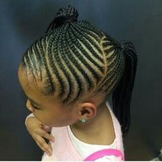 Braiding Hairstyles For Kids Kids Braided Hairstyles  Cute Styles For Little Girls  Pinterest