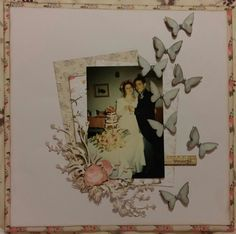 12x12 scrapbook layout using Sara Signature English Country Garden Collection - January Twelve Months of Scrapbooking Designed by Jen Fisher #crafterscompanion #ccscrapbooking #scrapbook #scrapbooking #12monthsofscrapbooking