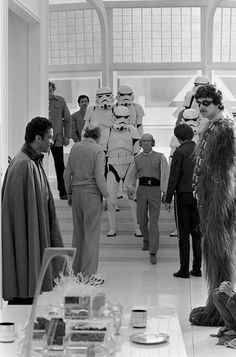 The Empire Strikes Back bts