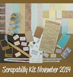 #Scrapabilly Kit November 2014