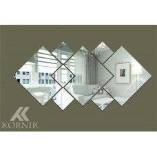 Dekoracyjne lustro akrylowe