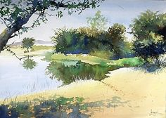 Watercolour Paintings By Bijay Biswaal - Google Search