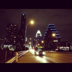 Austin from the Bridge on South Congress