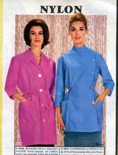 Nylons, Blouse Nylon, Staff Uniforms, Housecoat, Chef Jackets, Apron, Overalls, Shirt Dress, Retro