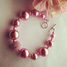 Hand made Bracelet. Totally love it.