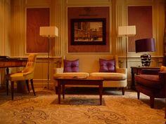 Décoration:  salon de la suite du Principe di savoia - Palace - Milan - salon - Luxe - suite.