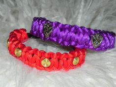 DIY Spikes : DIY Studded Satin Cord Cobra Bracelets  : DIY Jewelry
