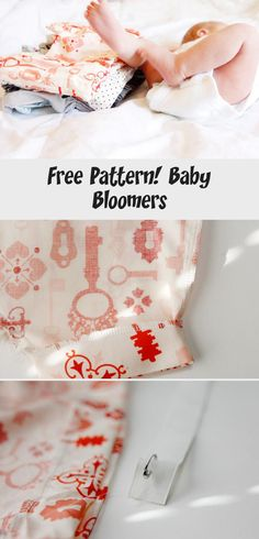 FREE PATTERN! baby bloomers - see kate sew #babyclothingStore #Knittedbabyclothing #babyclothingAnimals #babyclothingWinter #Unisexbabyclothing Unisex Baby Clothes, Pet Clothes, Baby Bloomers Pattern, Leg Cuffs, Little Bow, Winter Time, Baby Patterns, Free Pattern, Sewing