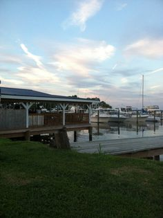 Harrison's  Waterfront Bar in Tilghman Island, MD