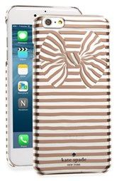 kate spade new york stripe bow iPhone 6 Plus & 6s Plus case