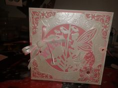 Wife wedding card Tonic and Tattered Lace dies
