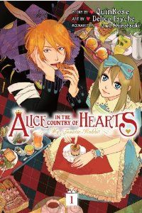 Alice in the Country of Hearts: My Fanatic Rabbit, Vol. 1: QuinRose, Delico Psyche: 9780316229203: Amazon.com: Books