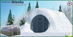 Prečo skleníky do ruskej zimy? Snow, Outdoor, Outdoors, Outdoor Games, The Great Outdoors, Eyes, Let It Snow