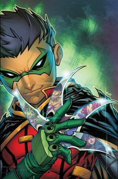 Teen Titans, volumes 'Damien Knows Best'. As a part of DC Universe Rebirth, son of Batman Damian Wayne joins the Teen Titans. Dc Rebirth, Titans Rebirth, Dc Universe Rebirth, Marvel Dc Comics, Dc Comics Art, Damian Wayne, Teen Titans, Beast Boy, New 52