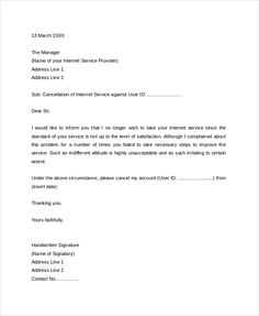 Lease cancellation letter a lease cancellation letter is written broadband connection cancellation letter format internet service request for new telephone spiritdancerdesigns Image collections