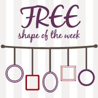 FREE Shape of the Week 9/4