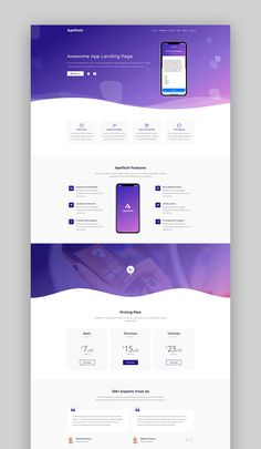 Buy Apetech - App Landing Page by HtmlLover on ThemeForest. ApeTech App Landing page Template is a modern and Responsive HTML Template. Apetech is App landing page b. Design Sites, Web Design Websites, Web Design Quotes, Web Ui Design, Web Design Agency, Web Design Trends, Web Design Tutorials, Logo Design, Custom Web Design