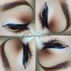 Easy Eyeliner Tutorial using Gel or Felt Tip!
