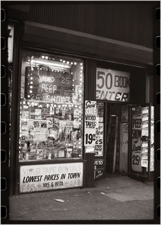 42nd Street Peep Show 25 cents.  Max Weber.