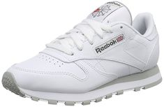 half off 0177f cd26d Reebok Classic Leather, Herren Sneakers, Weiß (Int-WhiteLt. Grey