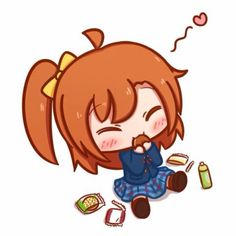 Love Live! School Idol Project Honoka Chibi Cute Kawaii