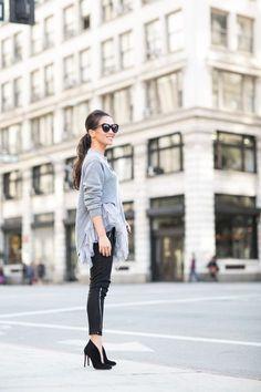 Ruffles :: Pleated sweater by Wendy's Lookbook