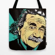 Albert Tote Bag by veeladwa Stencil Art, Stencils, Reusable Tote Bags, Art Prints, Fictional Characters, Illustrations, Art Impressions, Stenciling, Fine Art Prints
