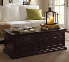 Santorini Amalfi Restoration Hardware Lanterns Pinterest - Pottery barn coffee table with drawers