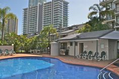 Anacapri Holiday Resort Apartments Gold Coast This 3-star resort offers free underground-parking, Wi-Fi and well-priced, self-contained apartments situated only a 3-minute walk to beaches at Surfers' Paradise beaches and 10 minutes to Cavill Mall: the heart of Surfers' Paradise.