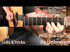 """Guitar Solos for """"Will the Circle Be Unbroken""""! - YouTube"""