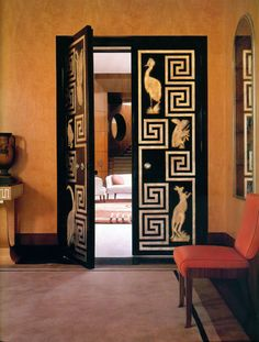 A strong Art Deco influence in Eltham Palace