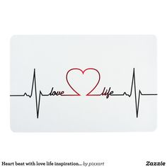 Heart beat with love life inspirational quote floor mat Love Life Tattoo, Life Tattoos, Body Art Tattoos, Mom Dad Tattoos, Heart Disease Tattoo, Heart Lock Tattoo, Love Background Images, Love Backgrounds, Love Life Inspirational Quotes