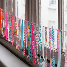 GUIRLANDE FRANGE - Petit Pan - vivre en multicolore
