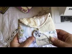 In this video I show my 'Sydney Pouch' PDF sewing pattern which is available in my Etsy shop. Fabric Crafts, Sewing Crafts, Sewing Projects, Sewing Diy, Patchwork Bags, Quilted Bag, Handmade Purses, Handmade Gifts, Pouch Pattern
