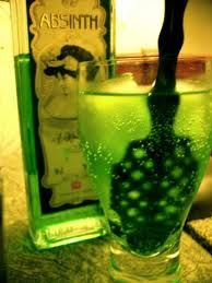 The Green Fairy - otherwise known as Absinthe