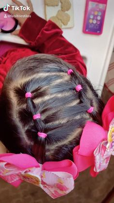 Lil Girl Hairstyles, Cute Little Girl Hairstyles, Princess Hairstyles, Toddler Hair Dos, Easy Toddler Hairstyles, Hairdo For Long Hair, Girl Hair Dos, Curly Hair Styles, Kid Hair Dos