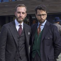 With mr Manolo @andreasweinas, trying out the #bluesteel (been trying to perfect this for the last ten years now). #Pitti #pitti89 #pittiuomo #pittiuomo89