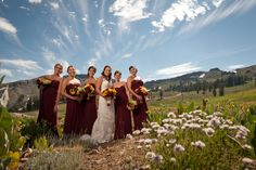 Wedding Party at High Camp, Squaw Valley
